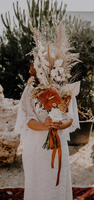 Blumenschmuck für eine moderne Hochzeit - teach me how to marry Onlinekurs zur Planung der eigenen Hochzeit