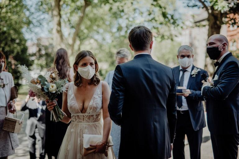 Hochzeitsplanung mit Corona