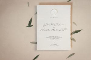 Stilvolle Hochzeitspapeterie – ist weniger mehr?